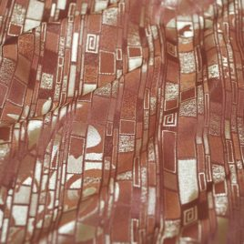 Климт (шоколад) — ткань портьерная
