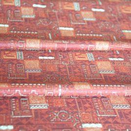 Звезда (шоколад) 145х280 см — комплект штор
