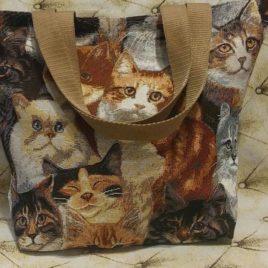 Котята (40х37 см) — сумка декоративная