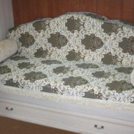 Рокаль (с шинилом) 220х160 см — накидка на диван