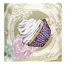 Сливочный зефир (35*35 см) — салфетка декоративная