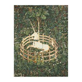 Единорог пойман (116*158 см) — накидка на кресло на подкладке