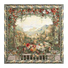 Изумрудная долина (230*235 см) — скатерть декоративная на подкладке