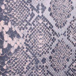 Питон (серый) — ткань портьерная