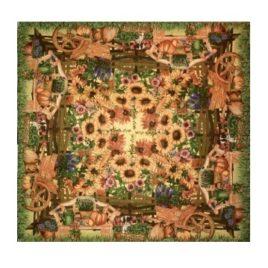 Дача (150х170 см) — скатерть декоративная
