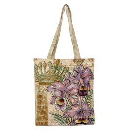Королевская орхидея (35х33 см) — сумка декоративная