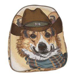 Мистер Корги (35х30х9 см) — рюкзак декоративный