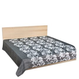 Муссон (серый) 250*220 см — покрывало декоративное