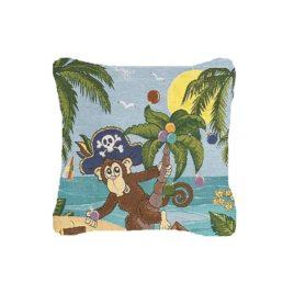 Пиратик (36х36 см) — подушка декоративная