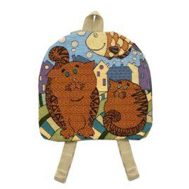 Рыжики (34*33 см) — рюкзак декоративный
