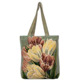 Тюльпаны (35х33 см) — сумка декоративная