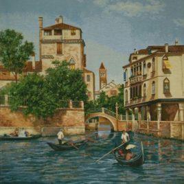 Венеция (75х78 см) — панно гобеленовое