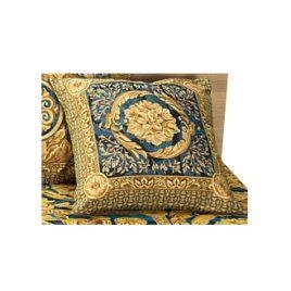 Версаль (синий) 45х45 см — наволочка декоративная