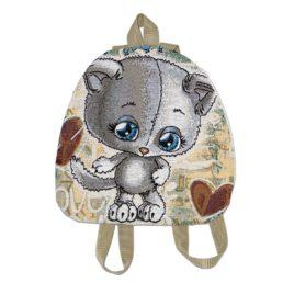 Кошки Мышки (34х33 см) — рюкзак декоративный