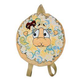 Лапушки (35*34 см) — рюкзак декоративный