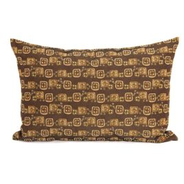 Леденцы (коричневый) 50х70 см — наволочка декоративная