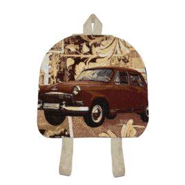 Машины (34х33 см) — рюкзак декоративный