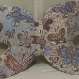 Мотылёк (58х35 см) — подушка декоративная