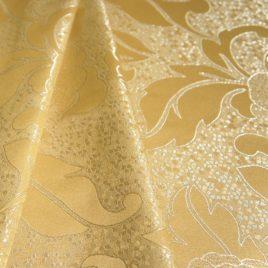 Мозаика (золото) 145х280 см — комплект штор