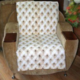 Ромбы (с шинилом) 70х160 см — накидка на кресло