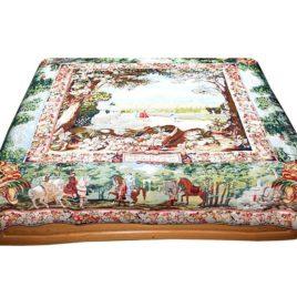 Сады Версаля (235х235 см) — накидка на диван