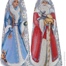 Снежная сказка (35х20 см) — украшение гобеленовое