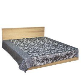 Уно (серый) 250*220 см — покрывало декоративное