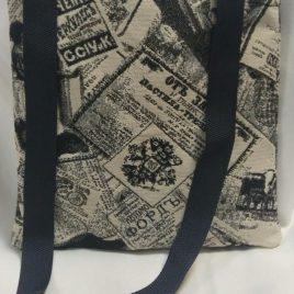 Газета Российская (25*27 см) — сумка декоративная
