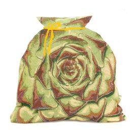 Каменный цветок (35*35 см) — мешочек декоративный