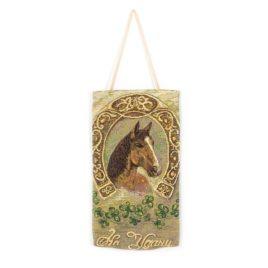 На счастье (36х19 см) — сумочка декоративная