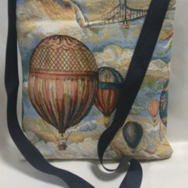 Над городом (25*27 см) — сумка декоративная