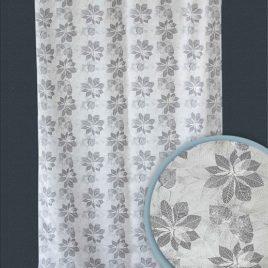 Октябрь (серый) 145*280 см — комплект штор