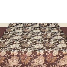 Сад (коричневый) 150х120 см — скатерть декоративная