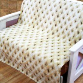 Ромбы (с шинилом) 220х160 см — накидка на диван