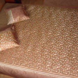 Арабески (шоколад) 250х220 см — покрывало декоративное