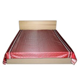 Сандал/Ганг (бордо) 250х220 см — покрывало декоративное