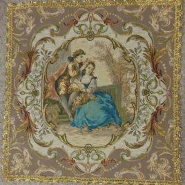 Свидание (50х50 см) — салфетка декоративная