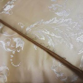 Ажурный лист (чайная роза) 145х280 см — комплект штор