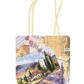 Лаванда (42х35 см) — сумка декоративная