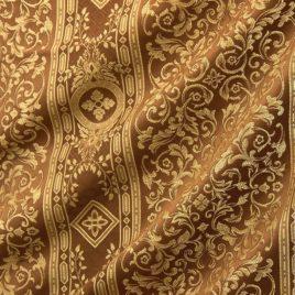 Верона (коричневый) — ткань портьерная