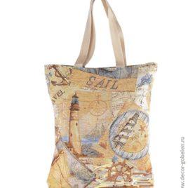 Меридиан (47х38 см) — сумка гобеленовая
