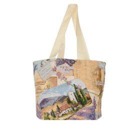 Лаванда (42х35 см) — сумка гобеленовая