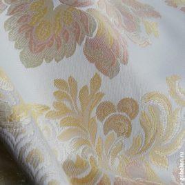Версаль Крупный (белый) — ткань портьерная