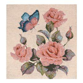 Розы (36х36 см) — гобелен без рамки