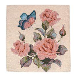 Розы (36х36 см) — салфетка декоративная