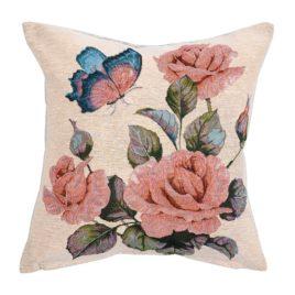 Розы (36х36 см) — наволочка декоративная