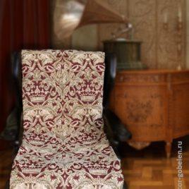 Корона (с шинилом) 70х160 см — накидка на кресло