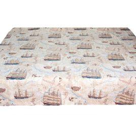 Флотилия (235х235 см) — скатерть декоративная