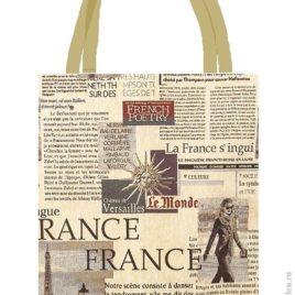 Газета (37х42 см) — сумка декоративная