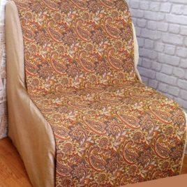 Восток (беж) 70х150 см — накидка на кресло